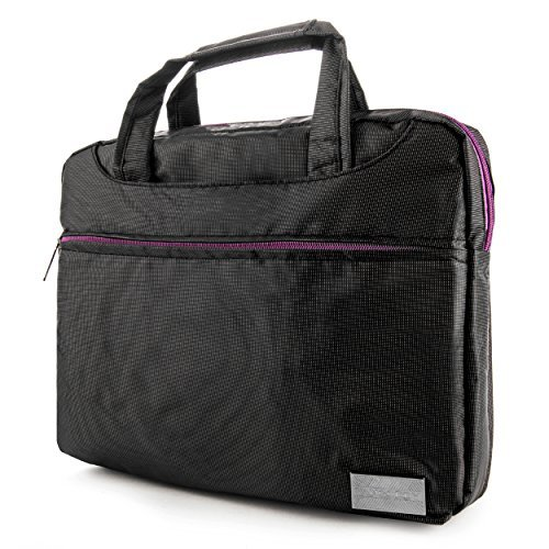 35ab481a113f Vangoddy NineO Water Resistant Shoulder Message Bag for Notebooks Laptop  10″ 12″ 13.3″ 14″ 15.6″ Fit Acer Aspire Samsung Apple Macbook Pro Sony Vaio  Compaq ...