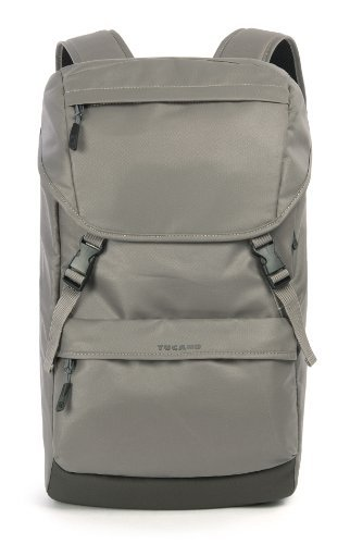 61c2cf6db5 Tucano Tu Pack backpack for MacBook Pro 15″ and Ultrabook 15″ Silver grey